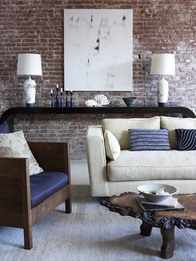 {Exposed Brick Walls}