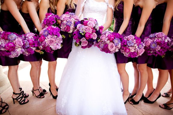 Lovely Purple Ashton Gardens Wedding | Photo: Sarah Ainsworth Photography, Flower: CM Floral Designs