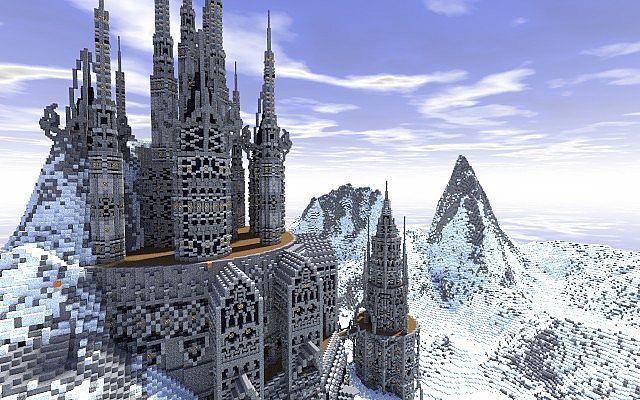 Lazgoth Citadel Minecraft World Save