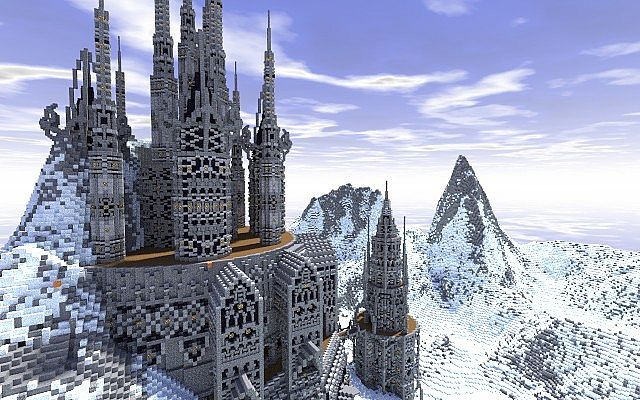 Lazgoth Citadel Minecraft World Save