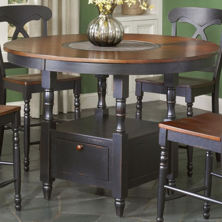 Kitchen Cabinets Fayetteville Nc Thermofoil 180 Best Tables With Built-in Lazy Susans Images On ...