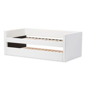 Baxton Studio Daybed with Trundle