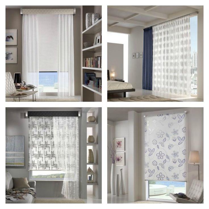 idée déco pour intérieur moderne avec rideaux design par Via Roma 60