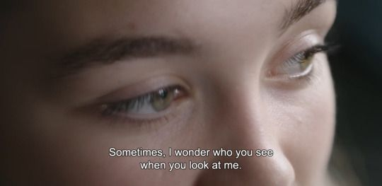 "itcuddles:  ― The Falling (2014)""Sometimes, I wonder who you see when you look at me."""