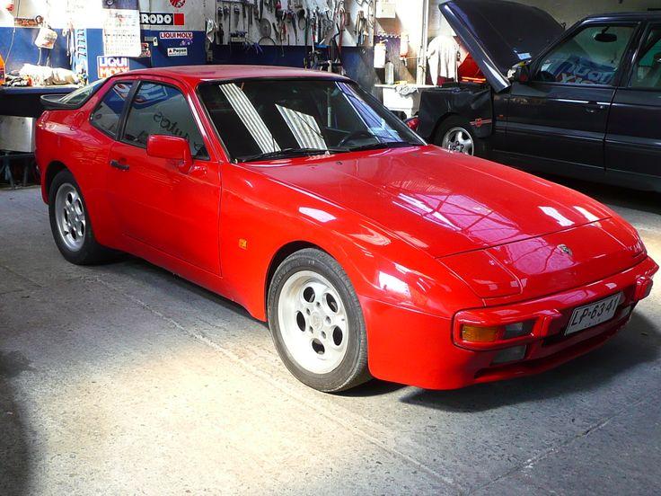 Porsche 944 de 1985 en restauración.