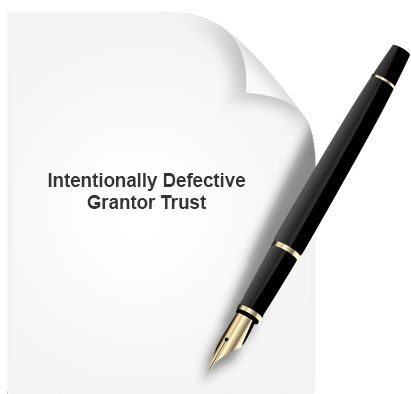 A intentionally defective grantor trust is created to freeze some of an individual's assets for estate tax purposes, the intentionally defective trust is established as a grantor trust with a flaw intentionally built in to ensure that the individual must continue to pay income taxes, which reduces the value of the grantor's estate and allows beneficiaries such as children or grandchildren to receive the full value of the assets. www.notary.net/websites/cedarparknotary