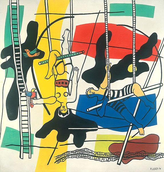 Fernand Léger - Les trapézistes #Orne #PureNormandie