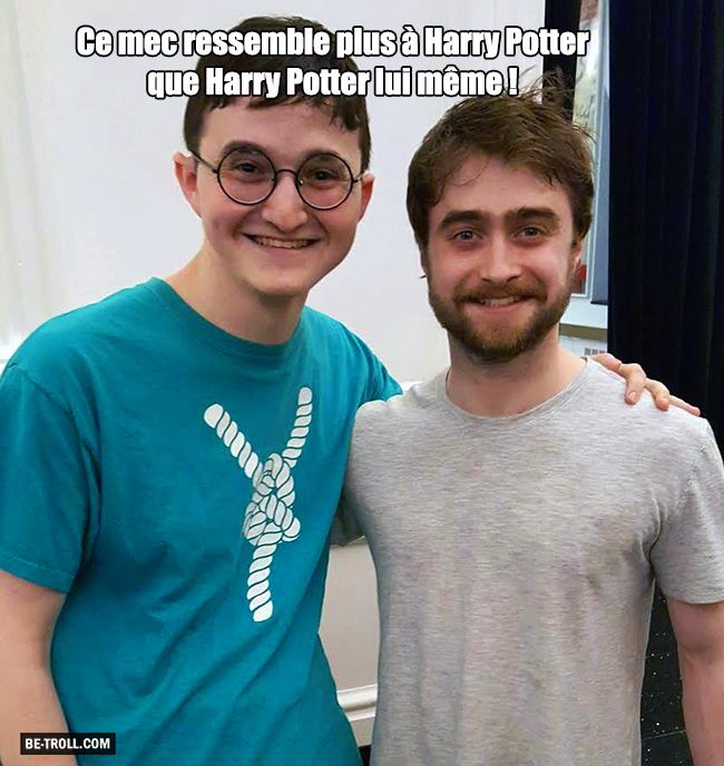 Ce mec ressemble plus à Harry Potter que Harry Potter lui même... - Be-troll…