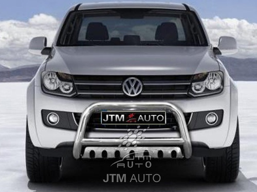 "Volkswagen VW Amarok Nudge Bar 3"" Stainless Steel Grille Guard 2010-2013"