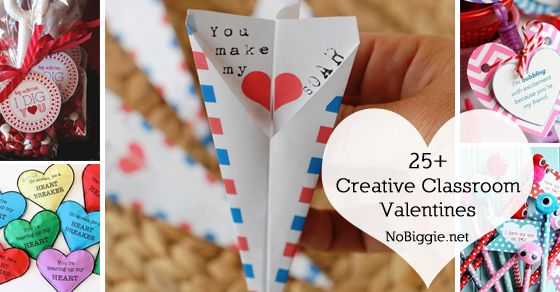 25+ Creative Classroom Valentines