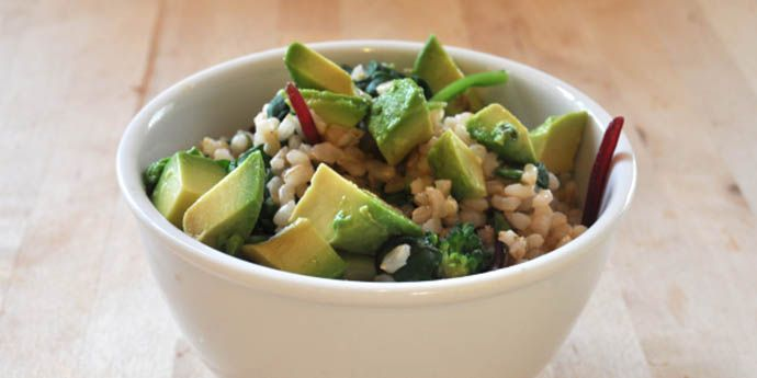 Brown Rice Green Bowl