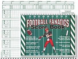 FOOTBALL SCORE BOOKS