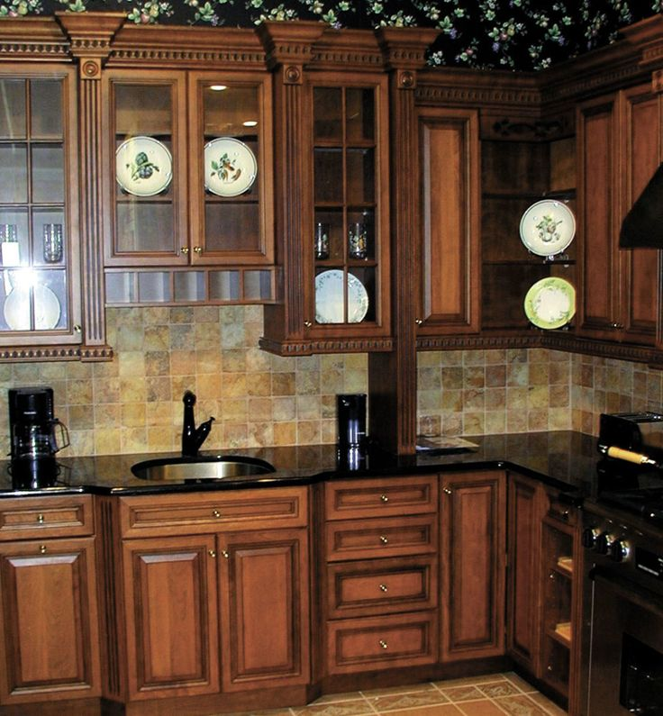 Mid Continent Cabinets Design Ideas : Furniture Design Ideas Of Splendid Kitchen Cabinetry In UltraCraft Standard  With Enchanting Classic Wooden Sequoia Cabinet Corner Kitchen