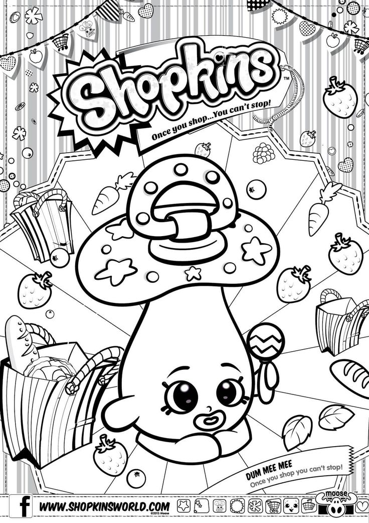 Shopkins Season 6 Cupcake Petal Coloring Pages Printable And Book To Print For Free Find More Online Kids Adults Of