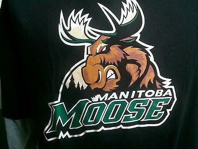 Bnwot Manitoba Moose long sleeve T-SHIRT Winnipeg Jets AHL NHL