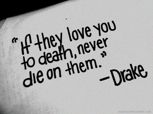 """""""When they give you their shoulder never cry on them and if they love you to death never die on them."""""""