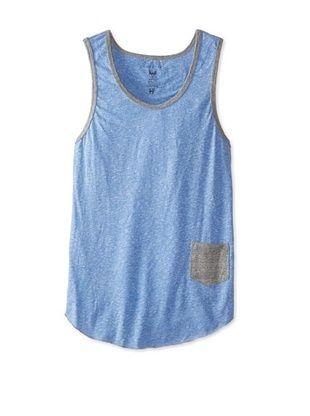 50% OFF Kinetix Men's Janeiro Jersey Knit Pocket Tank Top (Blue)