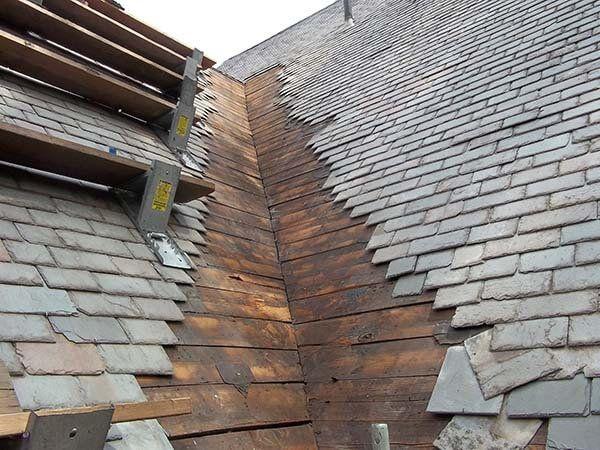 Pin By Lara M On Roofing Emergency Roof Restoration Roof Repair Slate Roof