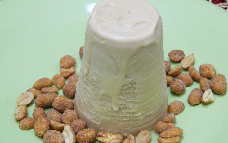 Puerto Rican Limber de Mani  or Peanut Butter Frozen Ice