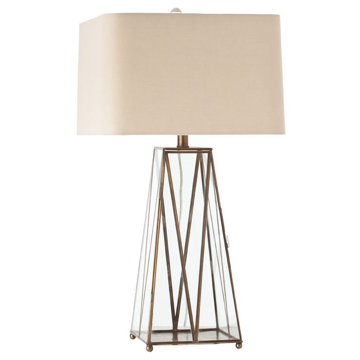 Arteriors edmond antique brass table lamp love this lamp