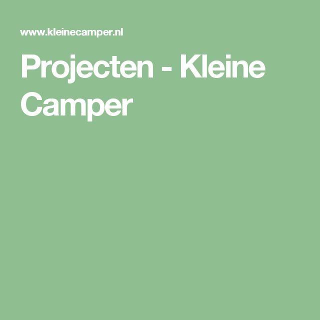 Projecten - Kleine Camper