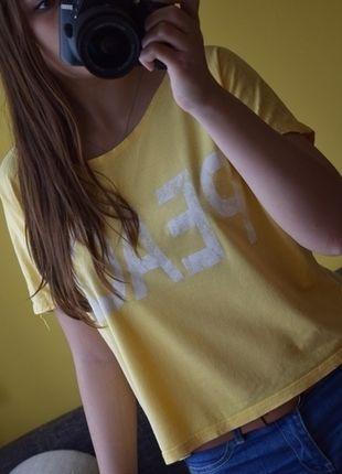 Kup mój przedmiot na #vintedpl http://www.vinted.pl/damska-odziez/koszulki-z-krotkim-rekawem-t-shirty/13743492-letnia-bluzeczka-oversize-peace-sm