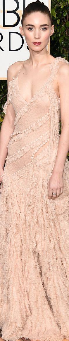 Rooney Mara 2016 Golden Globe Awards.