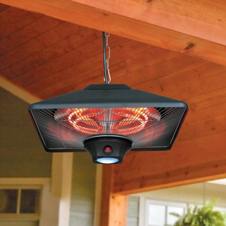 hanging outdoor patio heater - Patio Heating Ideas