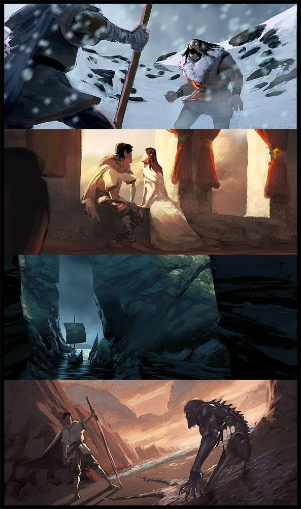 RYAN LANG PORTFOLIO: A Wizard of EarthSea via PinCG.com