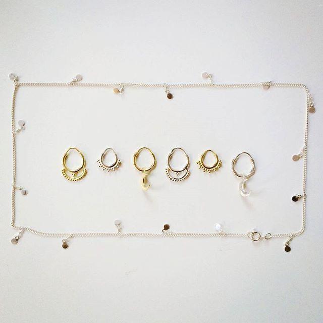 Wat worden wij ontzettend blij van de nieuwe sieraden van @annaninanl!  Wat vinden jullie ervan? Nu online te bestellen!  www.moonloft.nl  #annanina #sieraden #goud #zilver