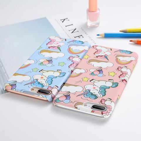 KISSCASE Cute Unicorn Hard Cover for