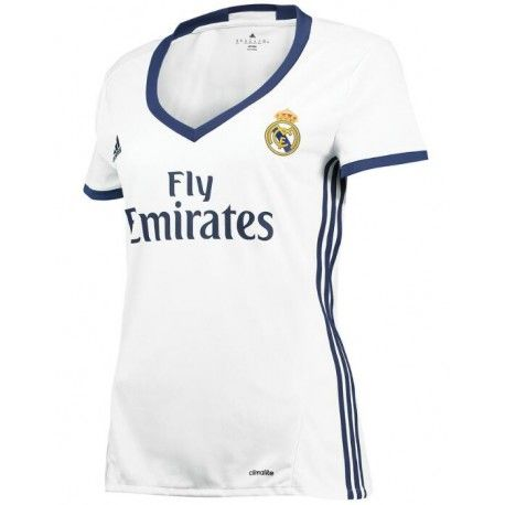 Camiseta del Real Madird para Mujer Home 2016 2017