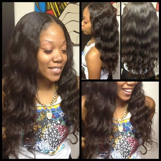 Sew in hairstyles, Hairstyles for black women and Sew ins on Pinterest