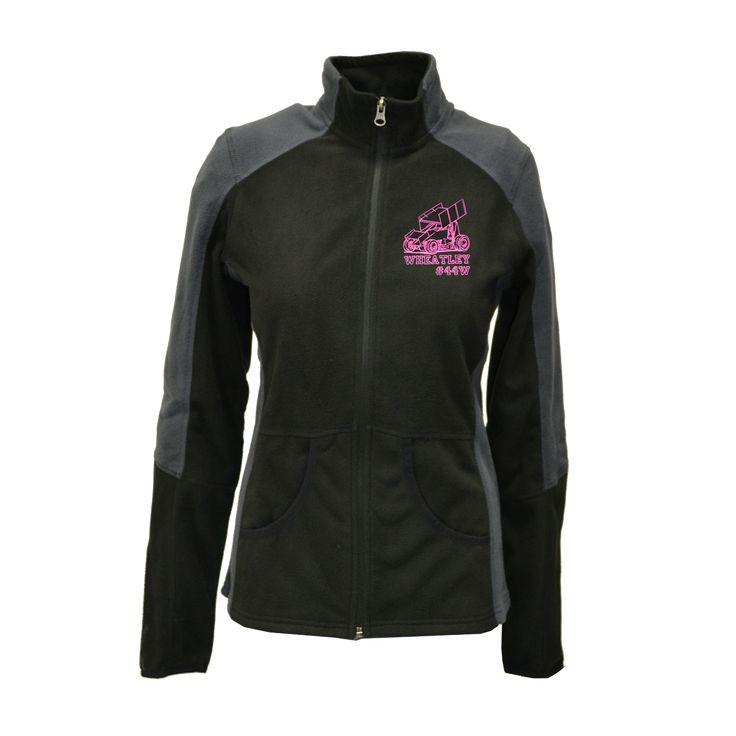 Custom Women Fleece Jackets!! Modified, Late Model, Hobby Stock, Mod Light, Jr Drag