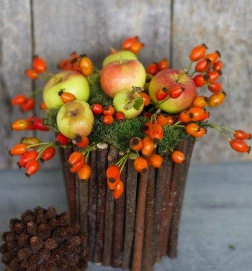 Decorazioni con la frutta fai da te