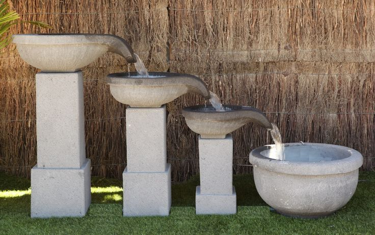 3 bowls with pond water feature. Our enormous on-site warehouse in Perth is continually stocked with water features, meaning you can find what you love and take it home today! Drovers inside and out.
