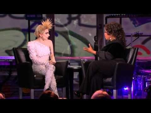 Lady Gaga - Oprah Winfrey Show Interview 1 (01.15.10)  makeup - billy b