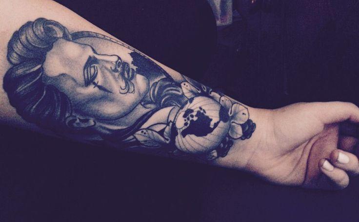 Tattoo by Tom Bartley, QLD Australia