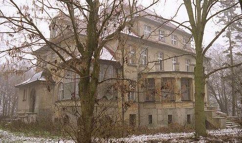 abandoned Polish mansion