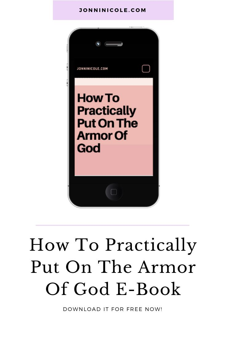 Free Christian E Book- Armor Of God