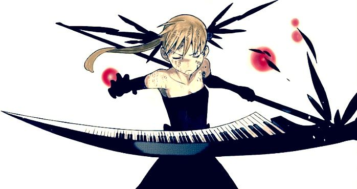 kishin hunter maka albarn - I looked up Kishin Hunter and there where allot of pictures with maka whering this outfit does anyone know if it's official? | soul Eater