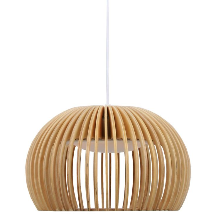 Crafted from timber and finished with a natural stain, the Willow Atto Dome Pendant features a unique design that creates a fun, eye-catching effect while staying completely functional. The inherent nature of timber and veneers mean that wood grain and colour may vary. Inconsistencies should be expected and appreciated.