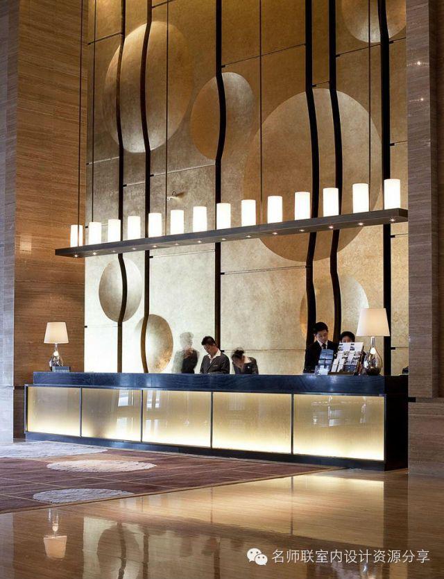 HBA+CCD酒店大堂吧台设计参考153...
