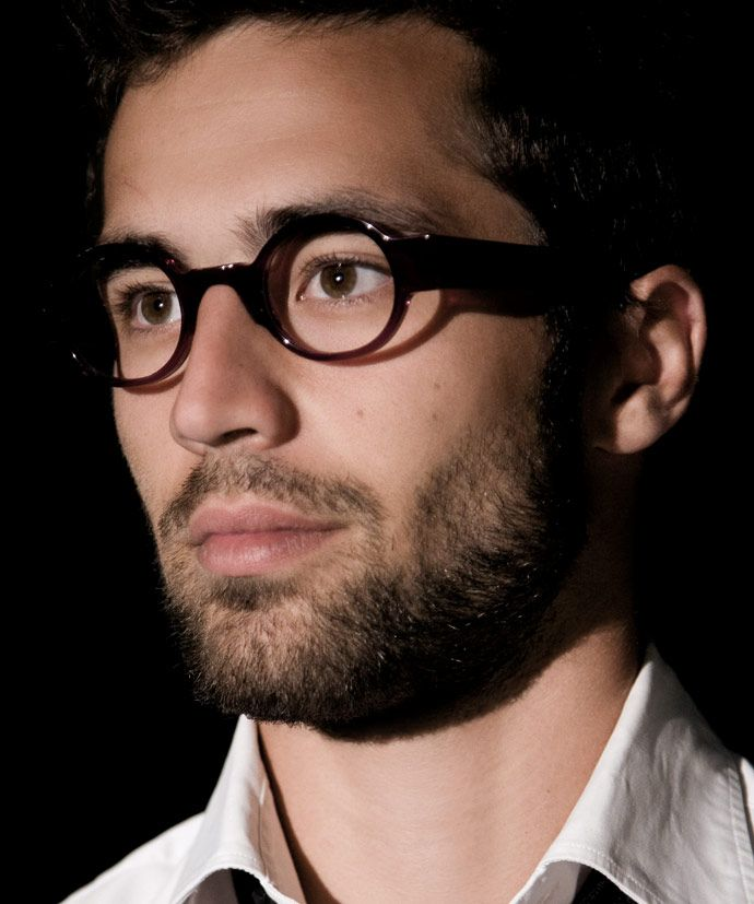 Men's designer frames: Anne et Valentin handmade glasses - matured for 21 days