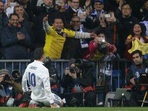 Doblete de James Rodriguez lidera triunfo del Real Madrid
