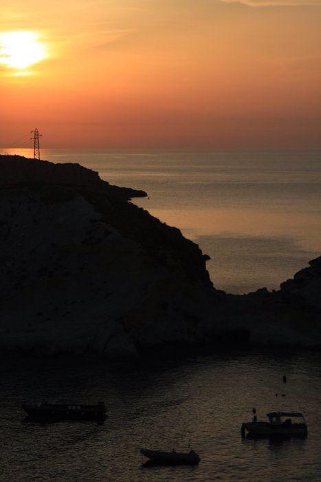 #tremiti #sunset #spiaggiapanfilo