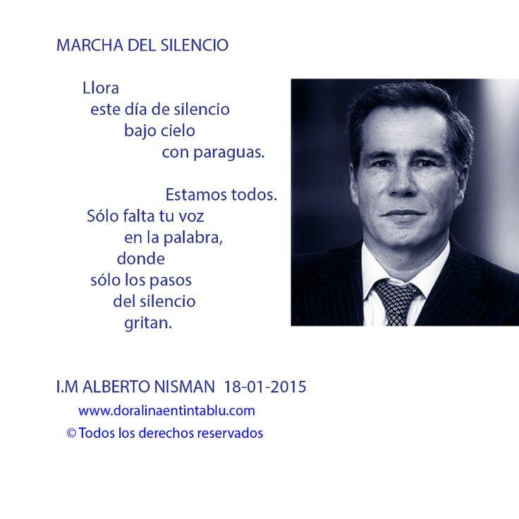 Homenaje Alberto Nisman by Dora Emilia Littvik