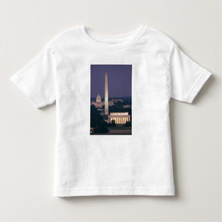 A night view of the Lincoln Memorial Toddler T-shirt - tap to personalize and get yours