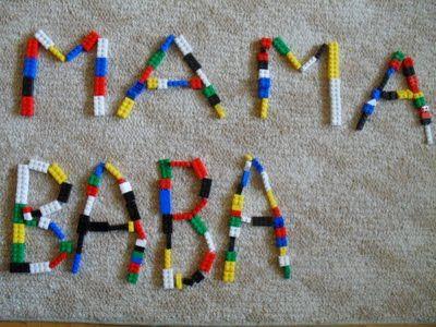 Constructing Words with Lego Bricks