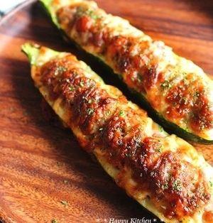 肉厚でジューシーな食べごたえ!ズッキーニの肉詰め | レシピブログ - 料理ブログのレシピ満載!